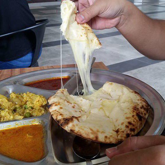 Ehsan's - Naan Cheese Tarik