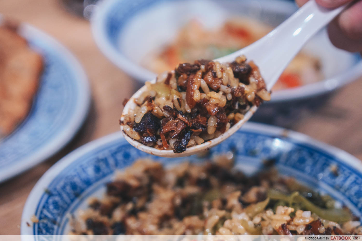 Feng Food hakka style braised meat rice scoop