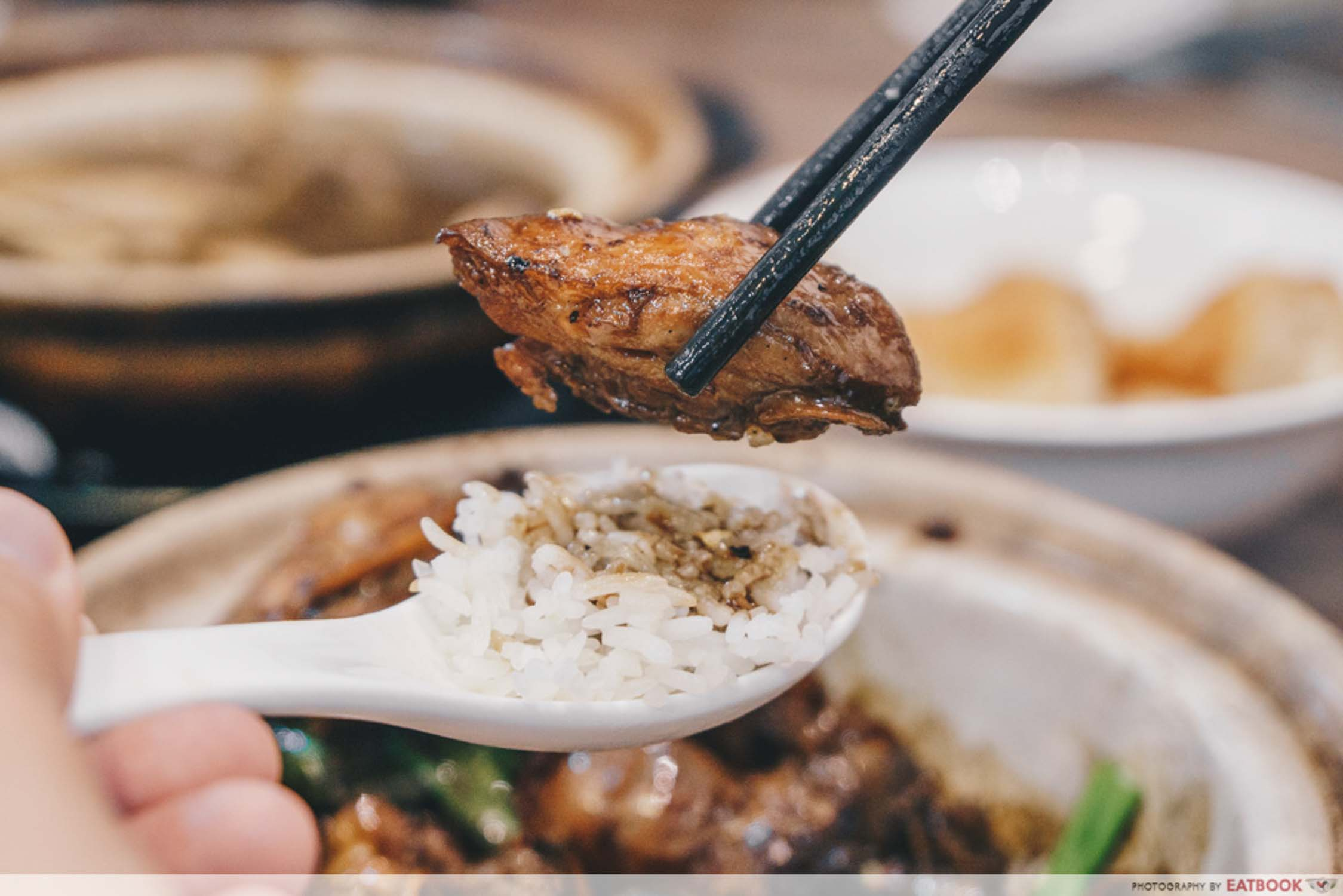 Good Taste Bak Kut Teh - Claypot Chicken Interaction