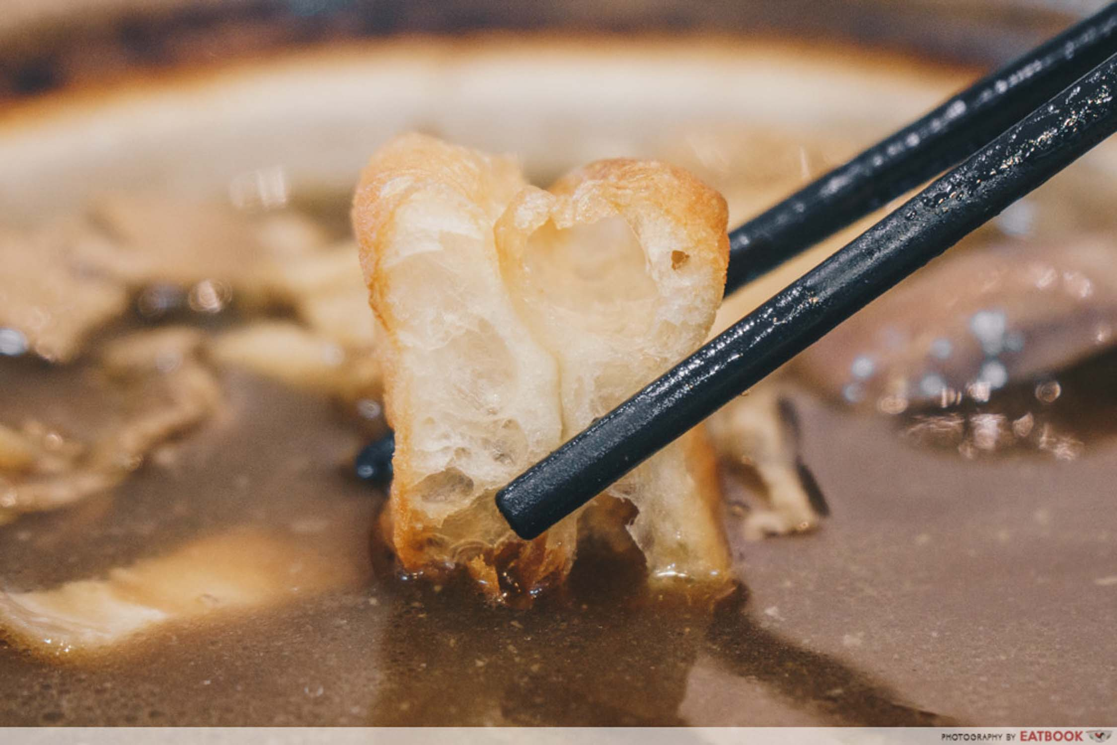 Good Taste Bak Kut Teh - You Tiao Closeup