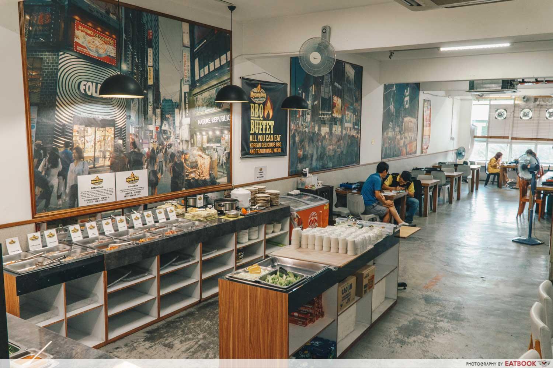 JB Mount Austin Food - Myeong Dong BBQ Buffet Ambience