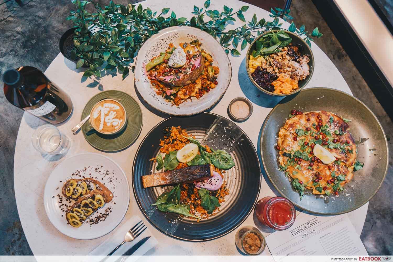 JB Mount Austin Food - People & Places Cafe Food