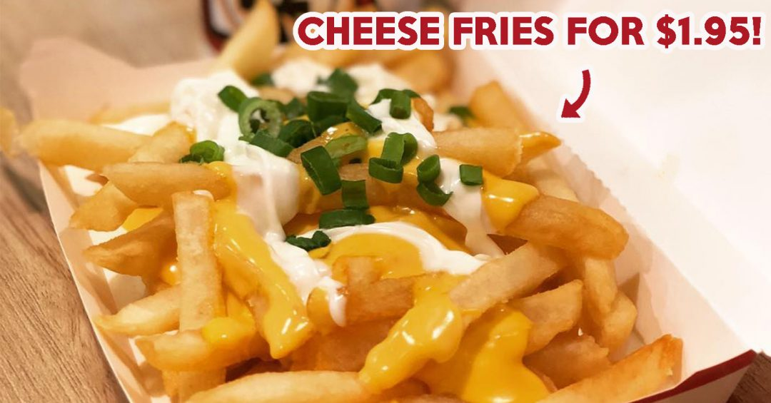 KFC Cheese Fries - Cover Image