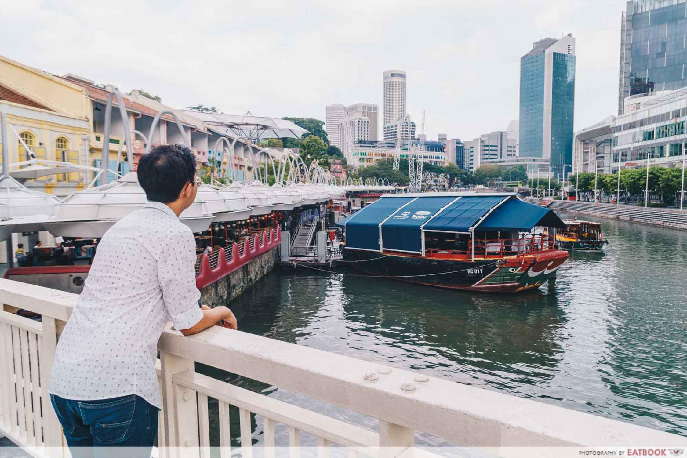 Kushikatsu Tanaka - Singapore River Ambience