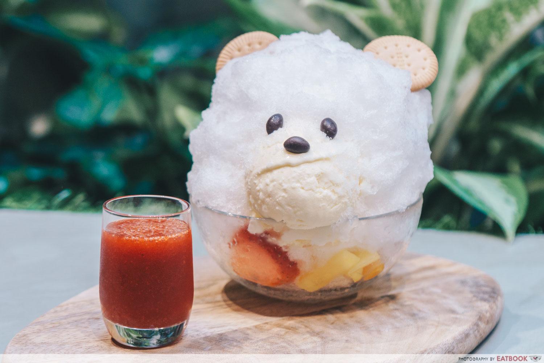 Minimalist Cafes - Baristart Shiro Kuma Shaved Ice