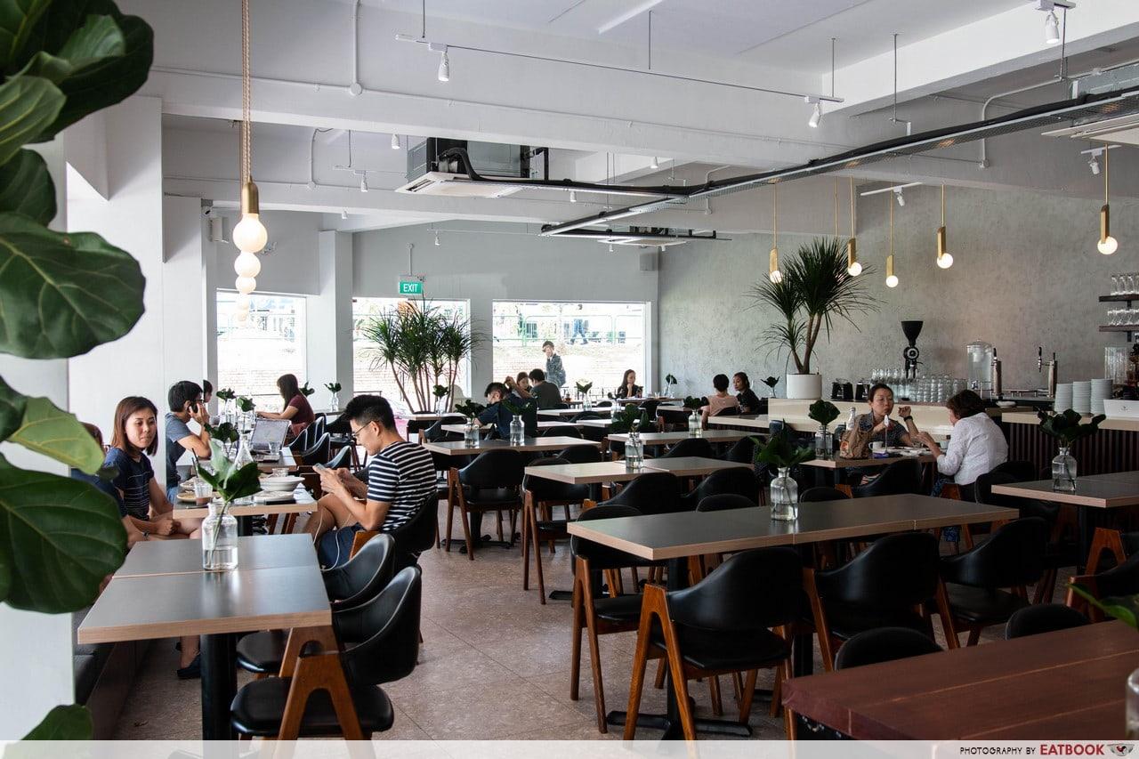 Minimalist Cafes - Columbus Coffee Co.
