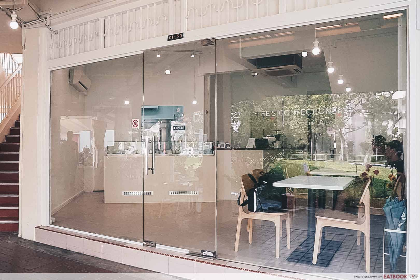 Minimalist Cafes - Lee's Confectionery