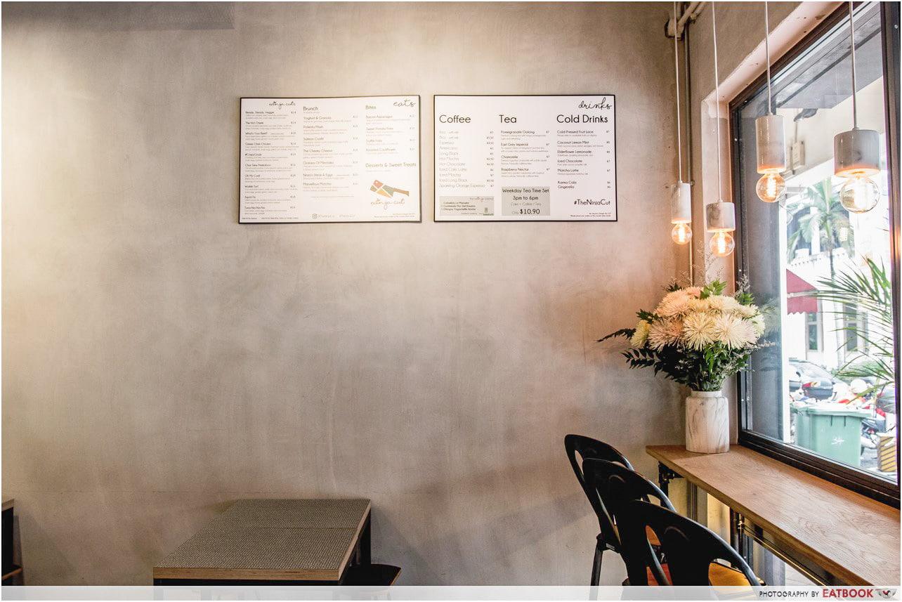 Minimalist Cafes - Ninja Cut