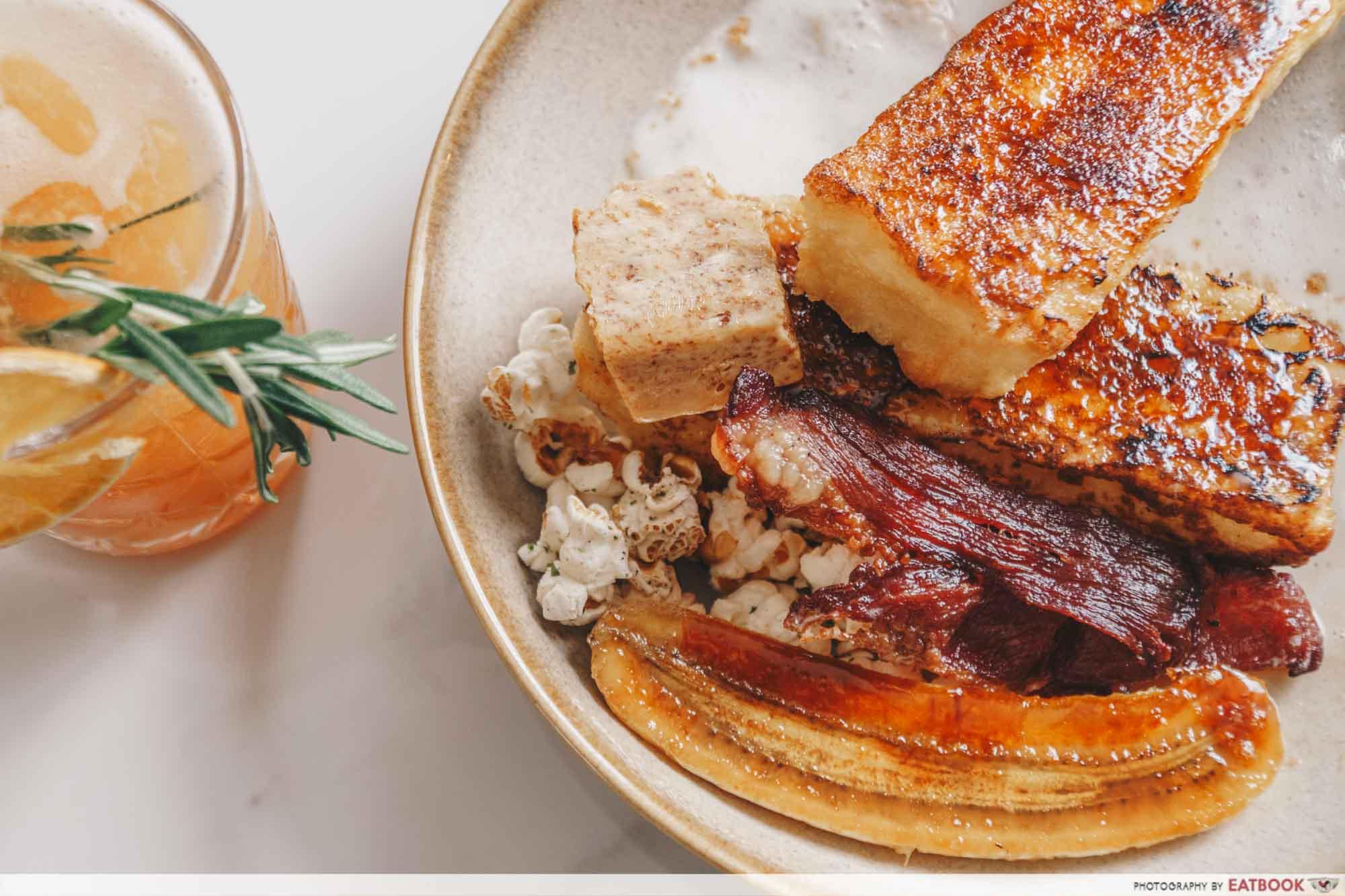 Mount Austin Food - B&B French Toast