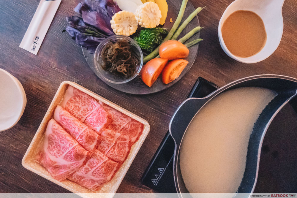 Okinawan Vegetables - Shabu Shabu