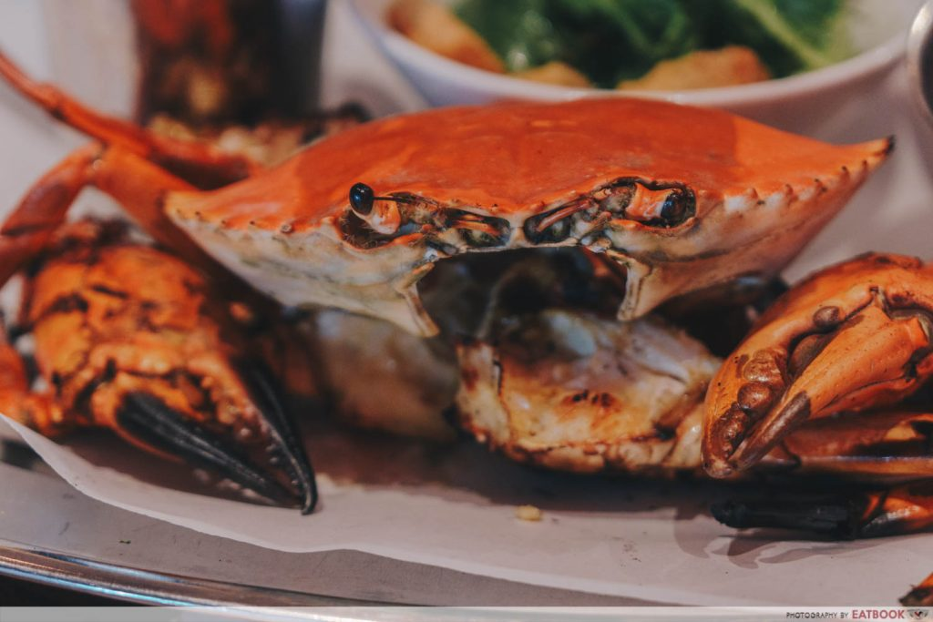 Pince & Pints Crab grilled crab