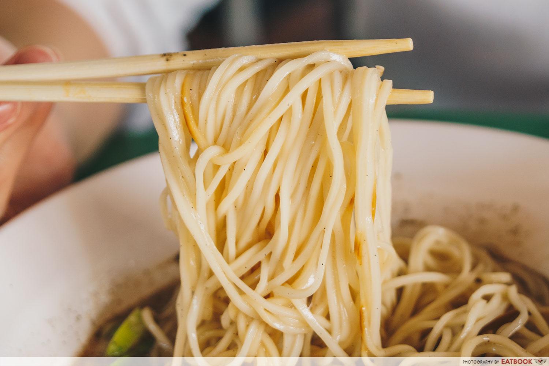 Ramen Taisho - Black Garlic ramen noodles