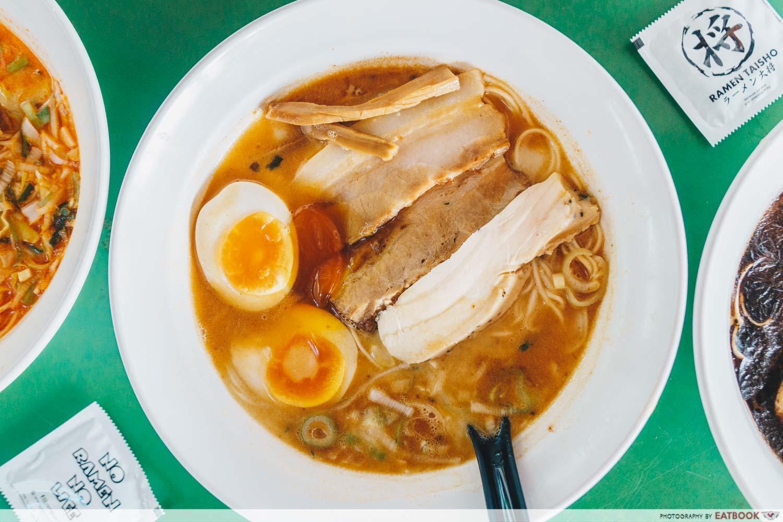 Ramen Taisho - salted egg ramen wide