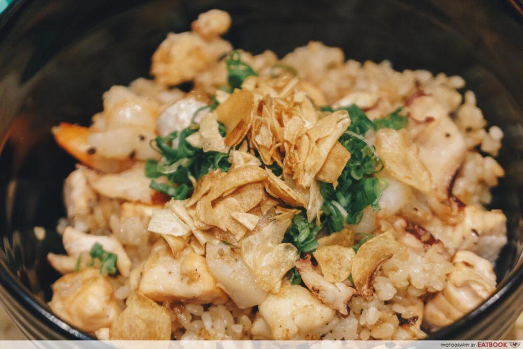 Teppan Kappou Kenji Garlic Rice