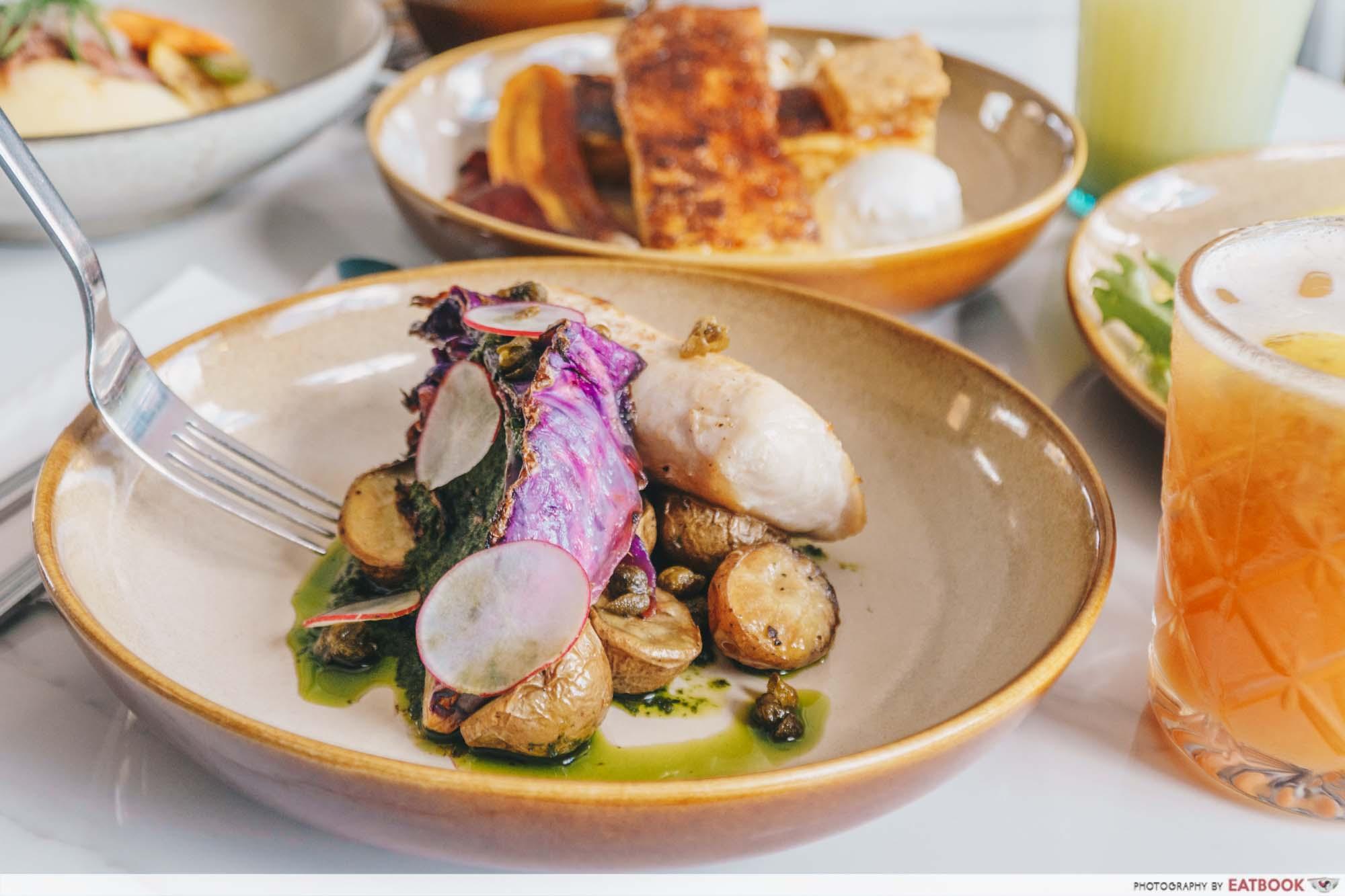 Tropique Cafe & Restaurant - Butter Fish