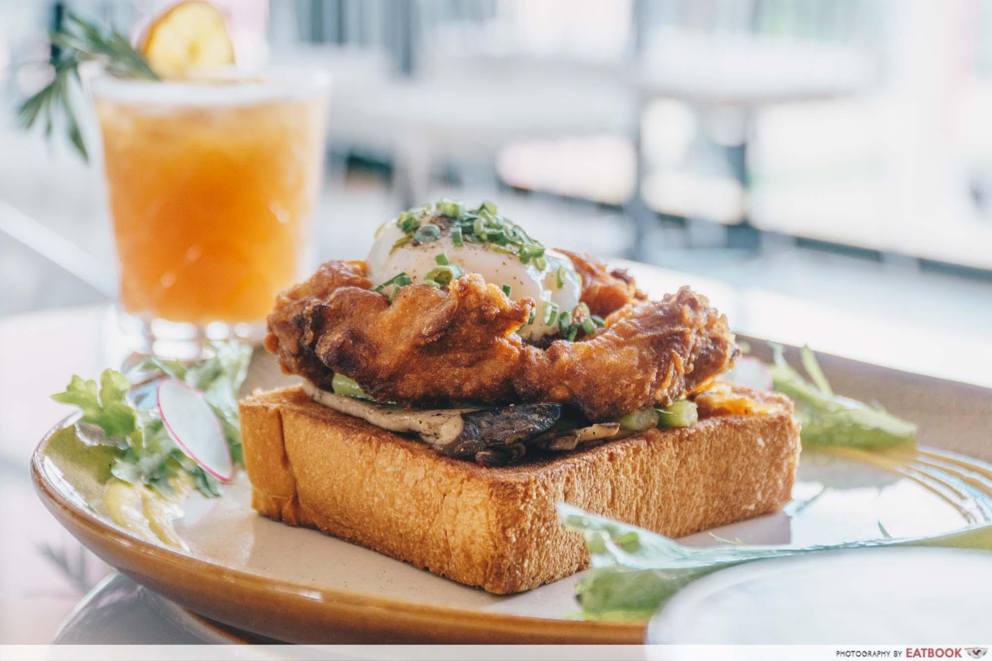 Tropique Cafe & Restaurant - Fried Chicken Benny