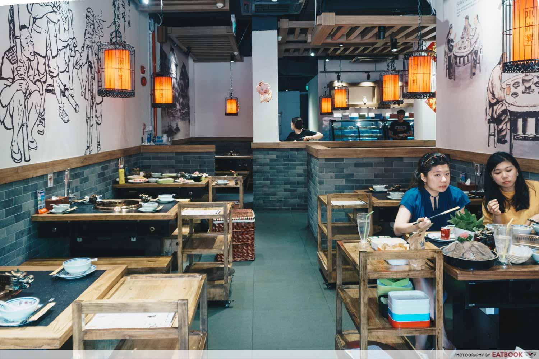 Xiao Mu Deng Traditional Hotpot - Ambience