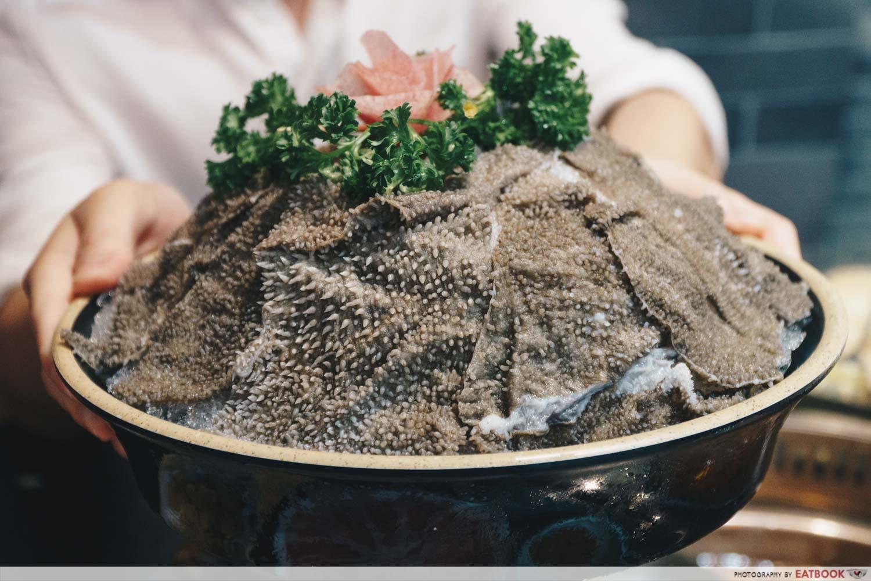 Xiao Mu Deng Traditional Hotpot - Beef tripe