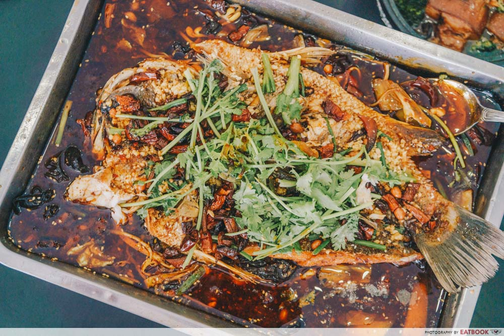 Xin Hua Delights Spicy Grilled Fish