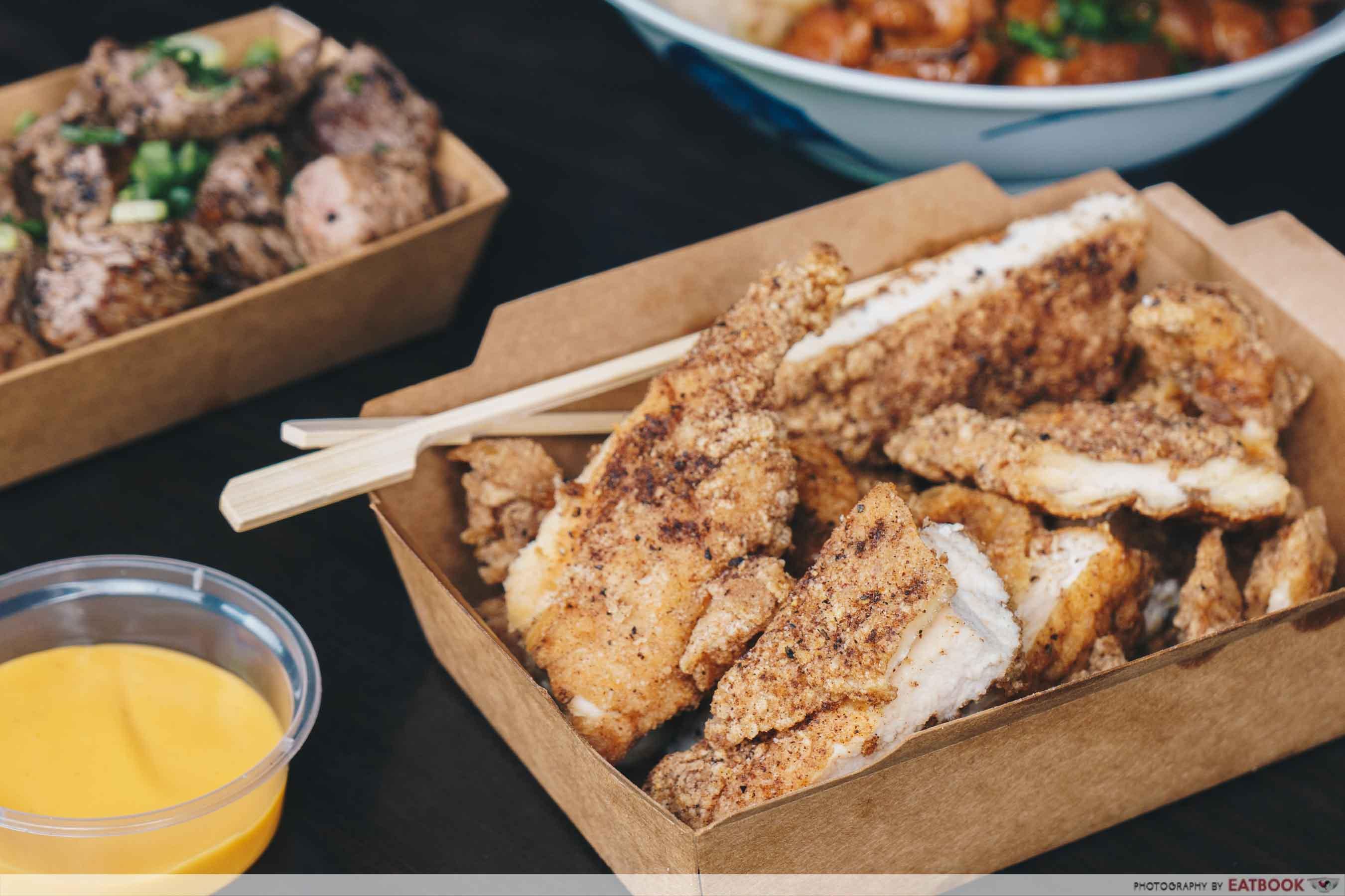 YEAH Taiwanese Modern Street Food XXXL Chicken Steak