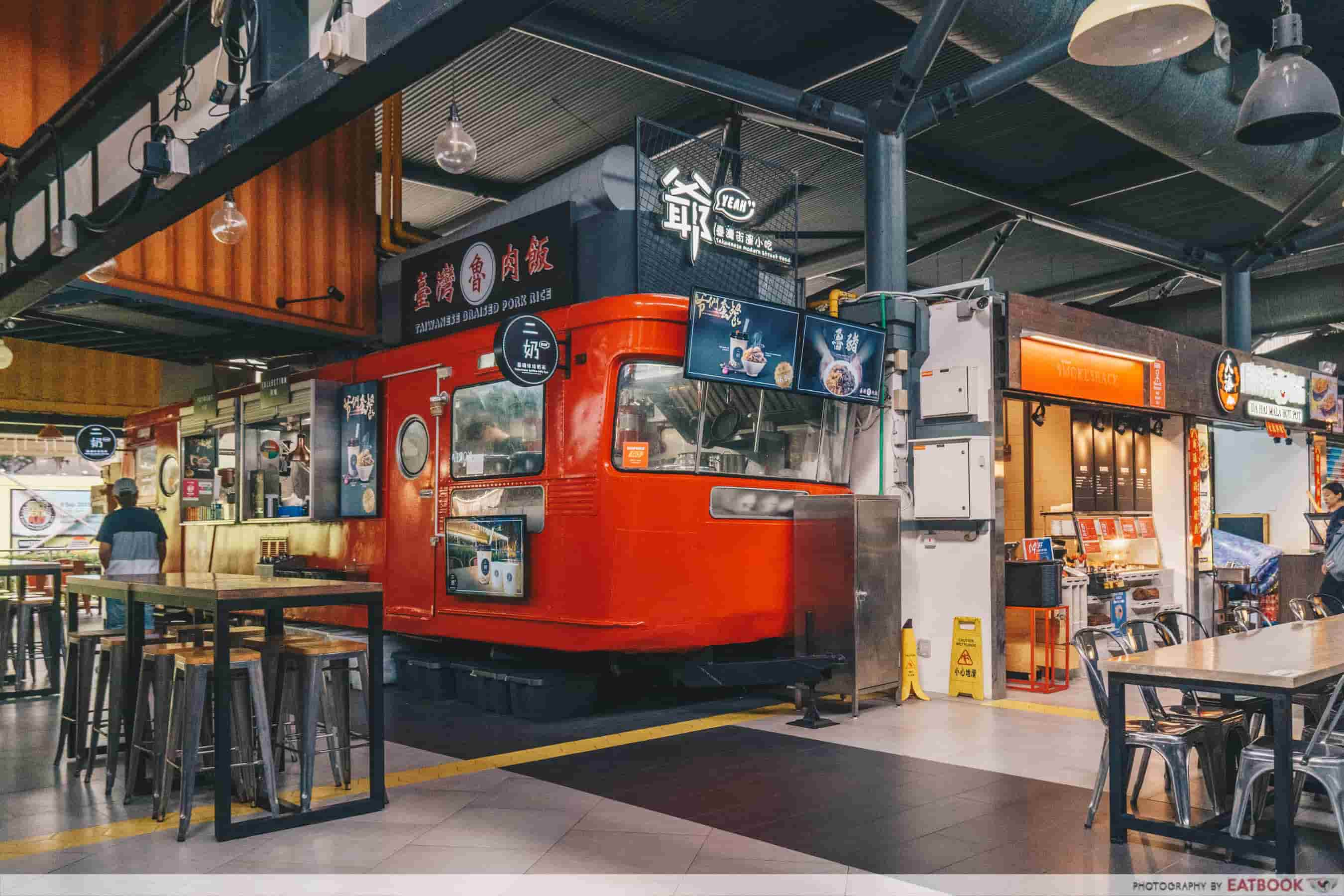 YEAH Taiwanese Modern Street Food ambience