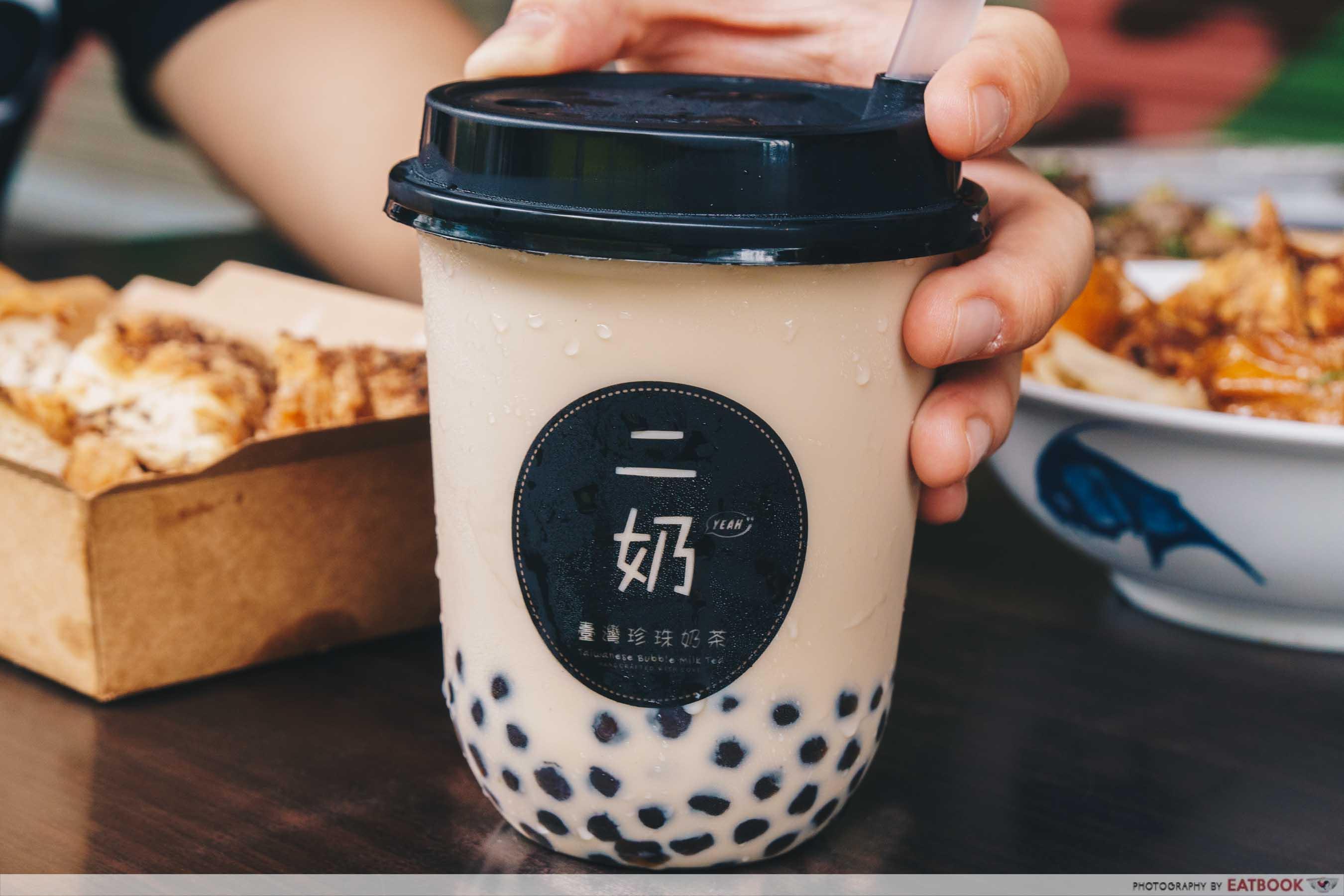 YEAH Taiwanese Modern Street Food okinawa brown sugar milk mix