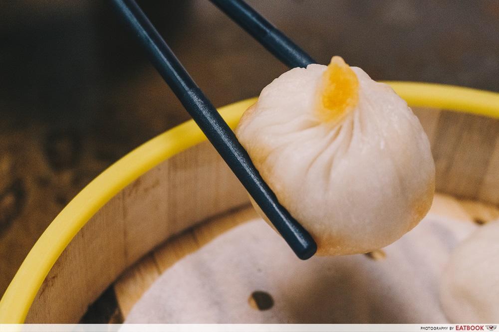 Yu Long Quan Terminal M - Salted egg xiao long bao halal