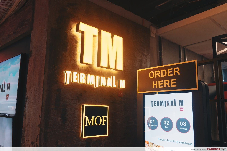 Yu Long Quan Terminal M - stall front