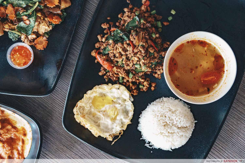 baan khun nai basil pork rice