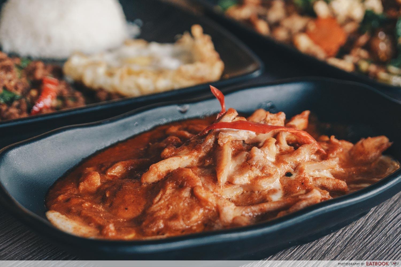 baan khun nai dry curry chicken intro