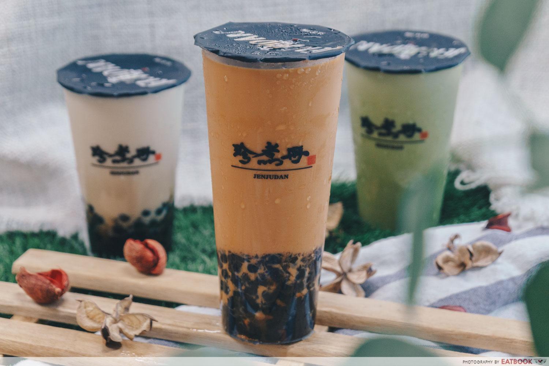 jenjudan thai milk tea