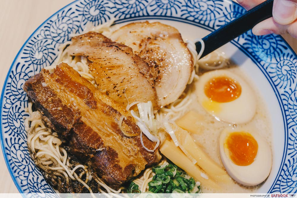 so ramen grand tonkotsu meat