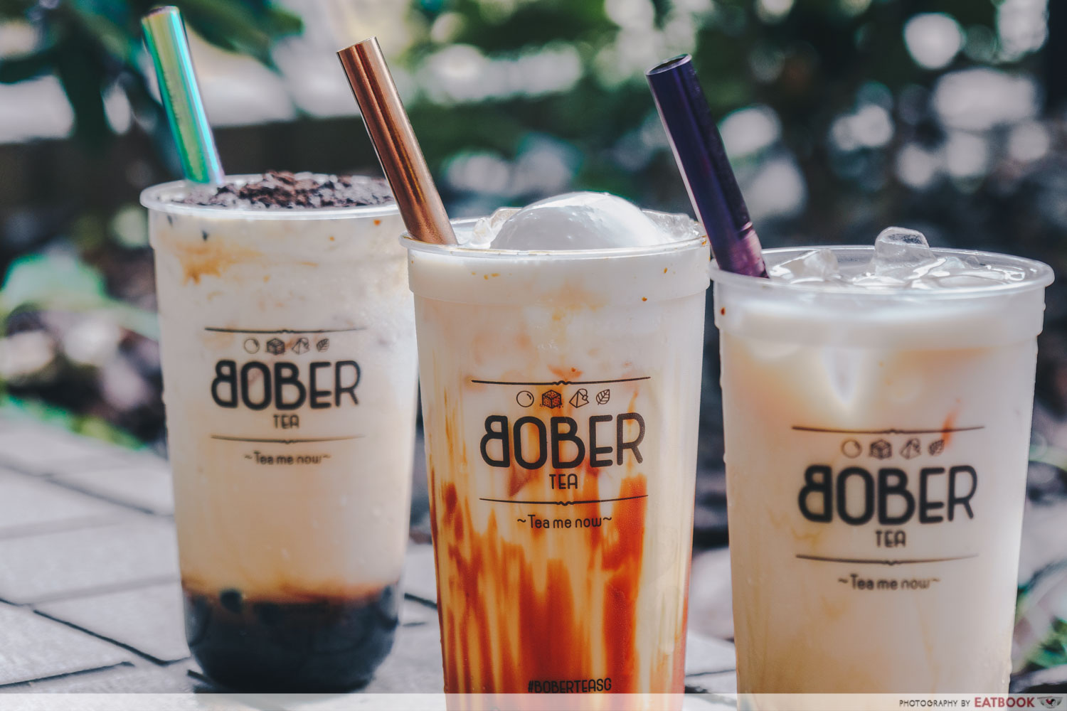 Bober Tea - Brown Sugar Bubble Tea