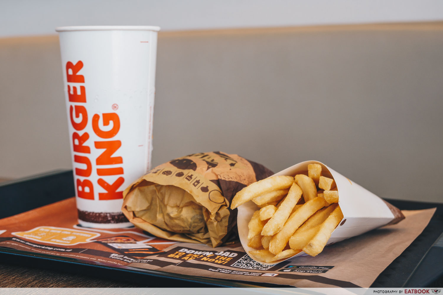 Burger King - Truffle Mayo Meal