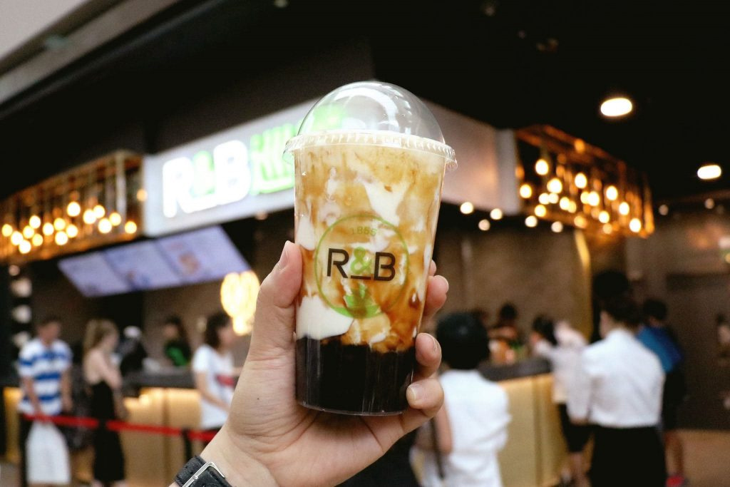 Gong Cha Brown Sugar - R &; B