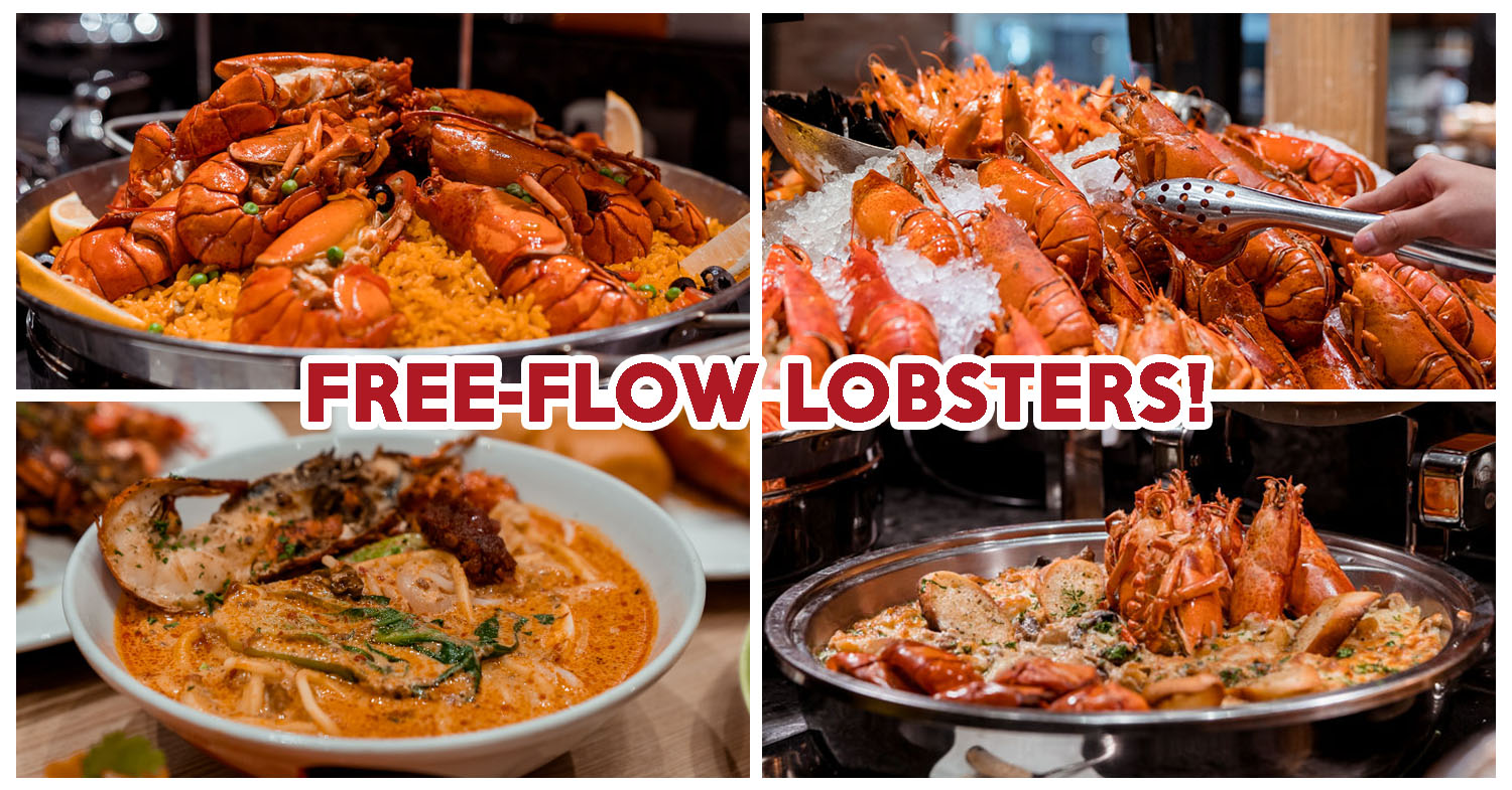 J65 Review: Free-Flow Lobster Dinner Buffet At Hotel Jen