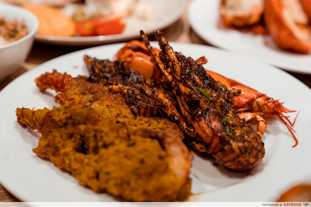 J65 - Singapore Chilli-Style and Black Pepper Lobster