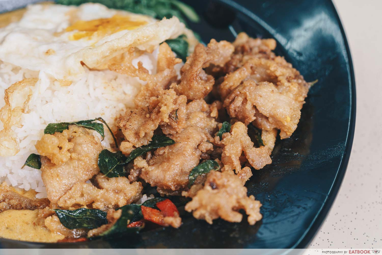 Lao Cai's Curry salted egg pork curry rice salted egg pork