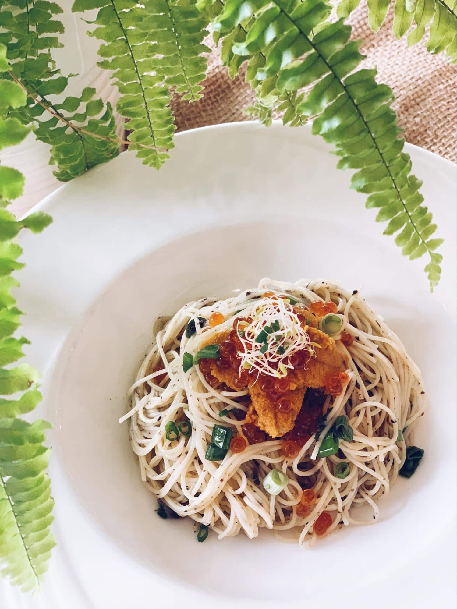 May Restaurants 2019 - BOTANY uni truffle capellini