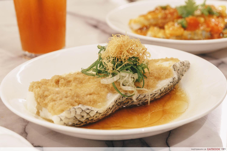 May Restaurants 2019 - Ho Fook Hei Cod Firsh Fillet