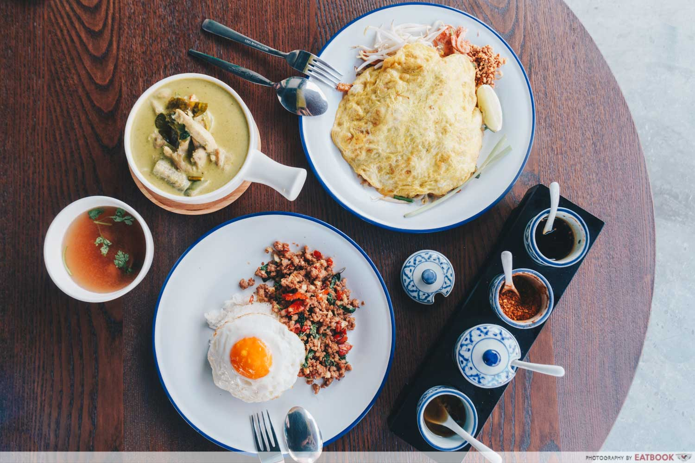 May Restaurants 2019 - Penguin's Kitchen Stir fried Hot Basil Pork rice