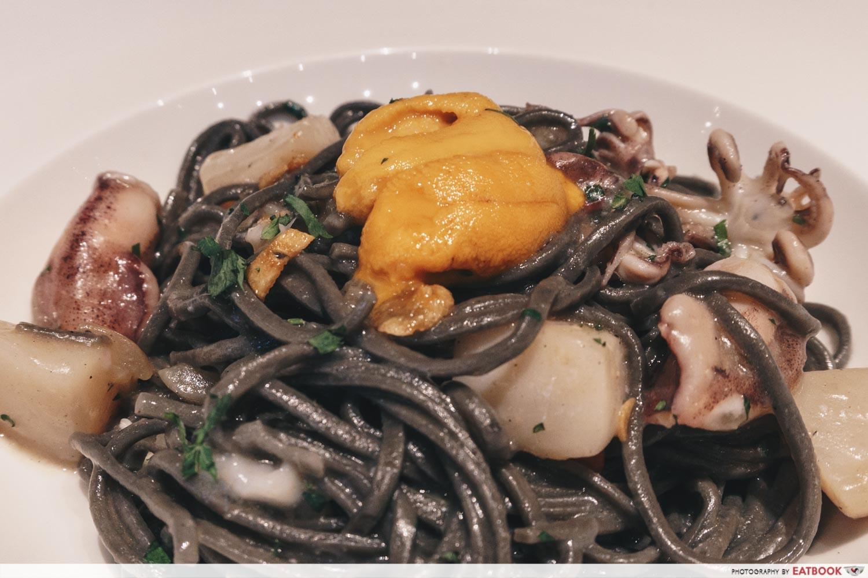 May Restaurants 2019 - bar cichetti Tagliolini Nero