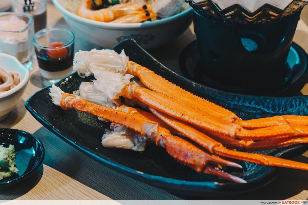 Maybank 1-For-1 - Kuishin Bo Crab Legs