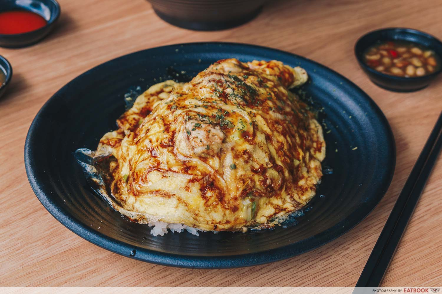 Seafood Pirates - Oyster Omelette Rice