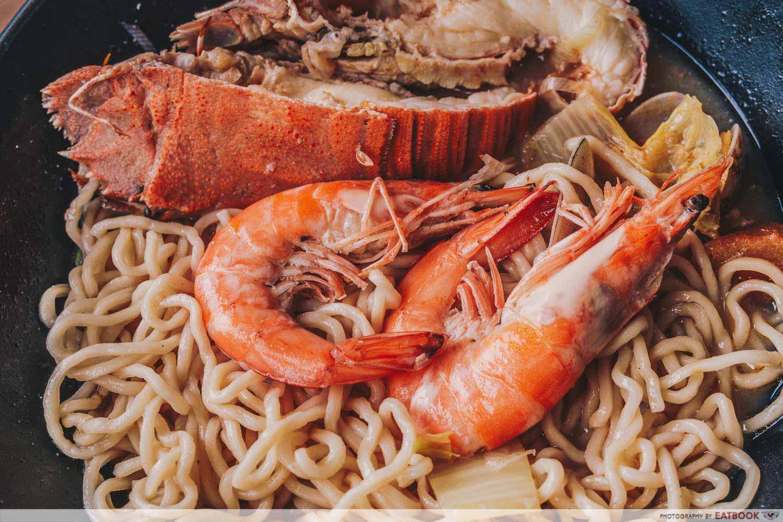 Seafood Pirates - Prawns Closeup