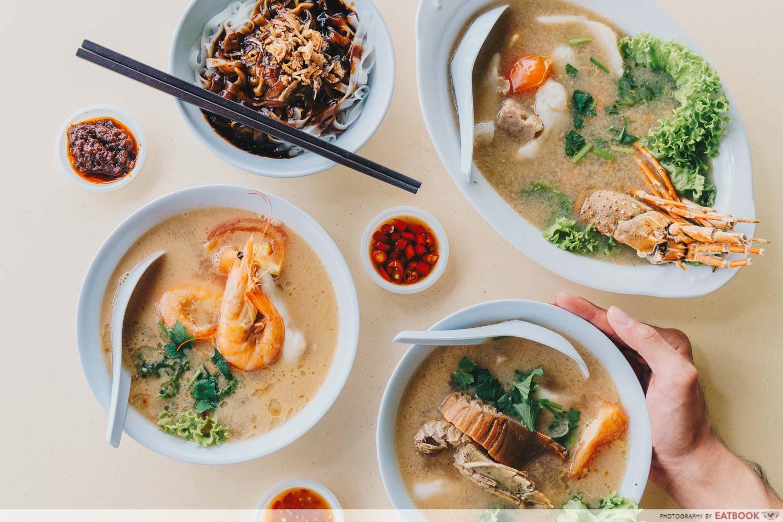 Shun Feng Crayfish Delight - Flatlay