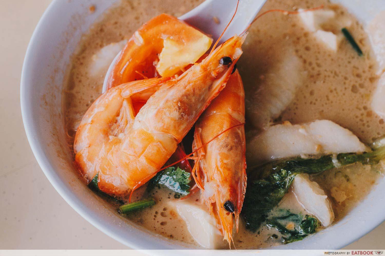 Shun Feng Crayfish Delight - Prawns Closeup