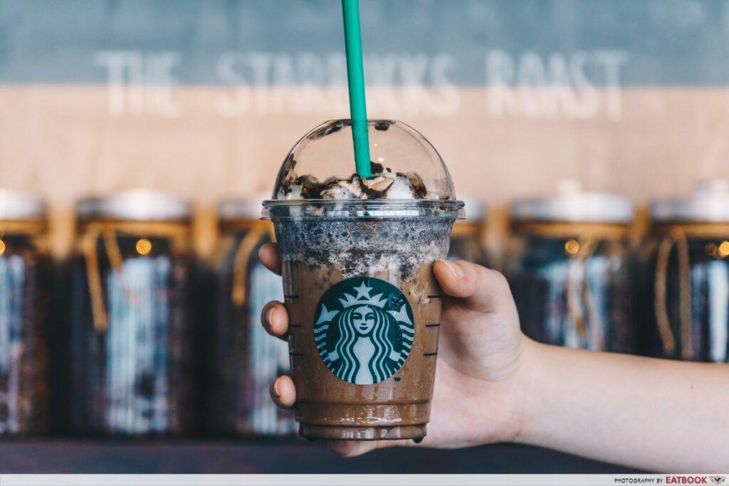 Starbucks Secret Menu Drinks -Snickers Frappuccino