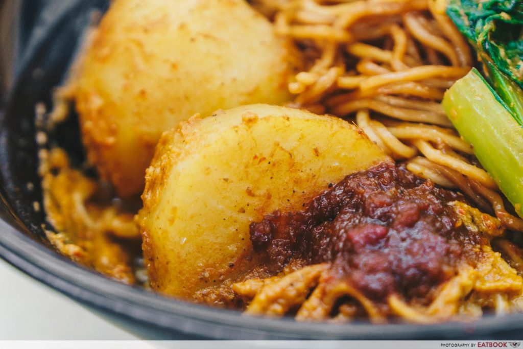 Tay Kee Noodle House Curry Potato