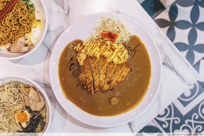 Wafu Japanese Cuisine - Curry Omelette Pork Katsu Rice